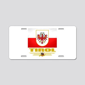 Tirol (Flag 10) Aluminum License Plate